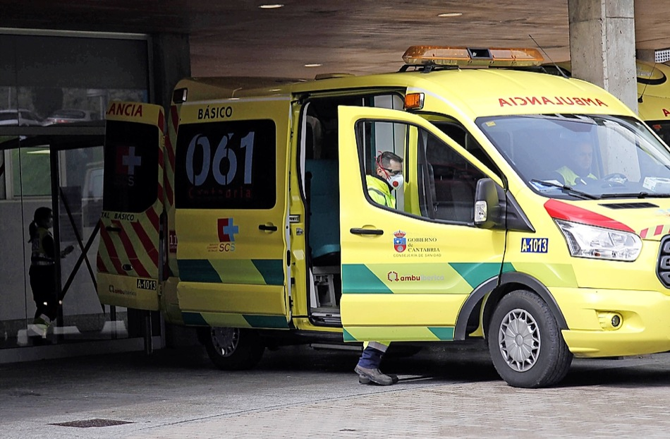 Herido grave un hombre en Camargo tras ser atropellado