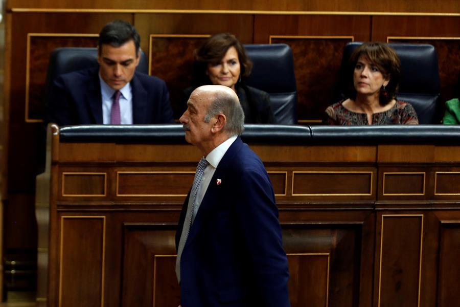 Mazón, el diputado español con menos iniciativas en el Congreso