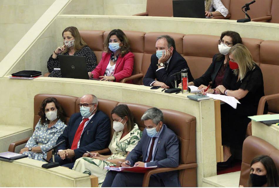 El Parlamento debate sobre las pruebas covid en farmacia y la defensa del castellano