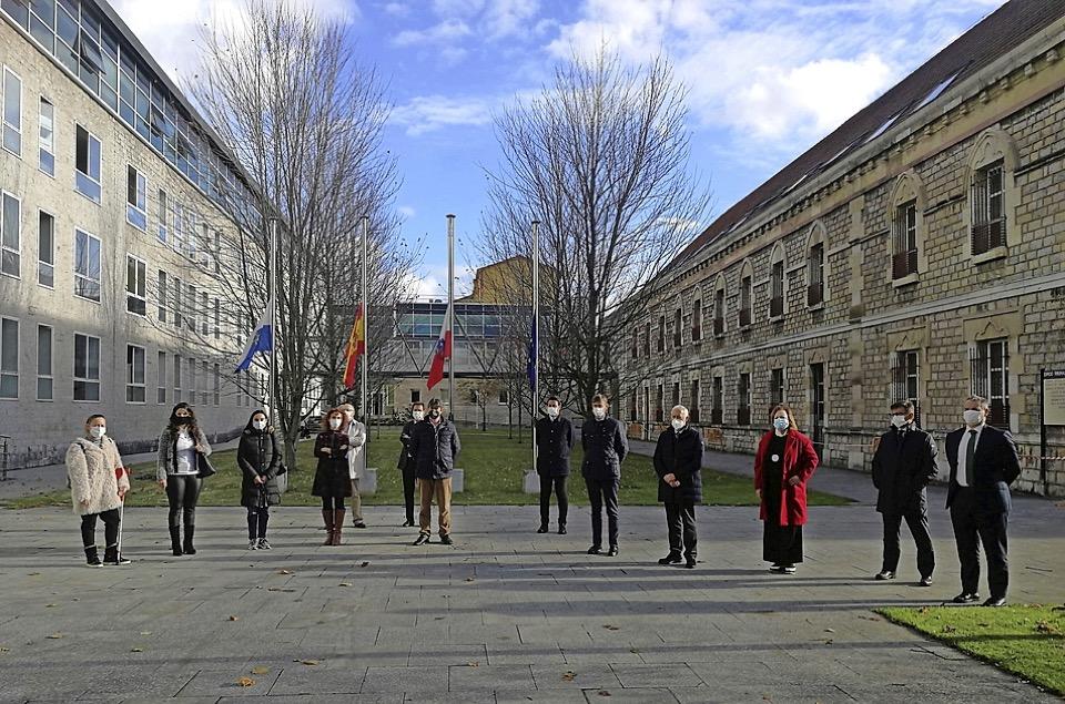 Los jueces se concentran en apoyo a la juez apuñalada en Segovia