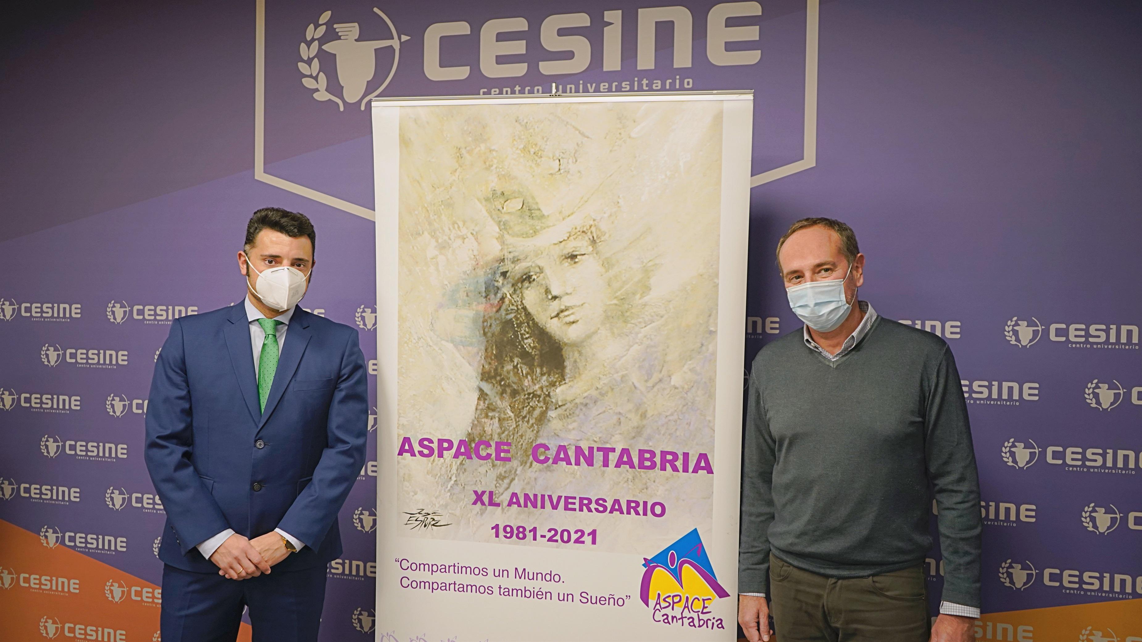 Cesine y Aspace colaborarán en la difusión de la labor de la asociación
