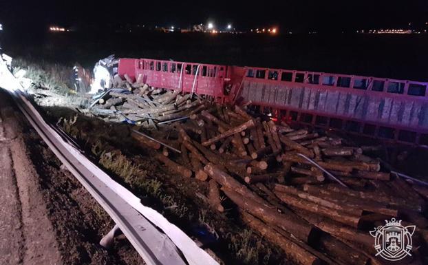 Fallece un camionero cántabro al volcar su vehículo en Burgos