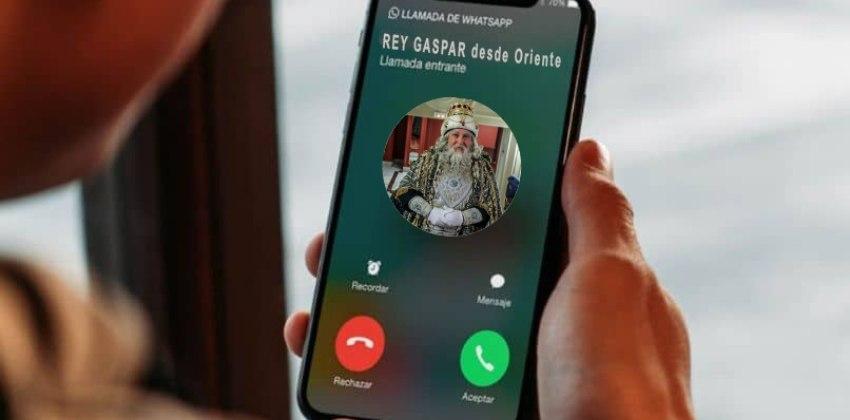 Los Reyes Magos harán el 5 de enero más de 60 videollamadas desde San Mateo