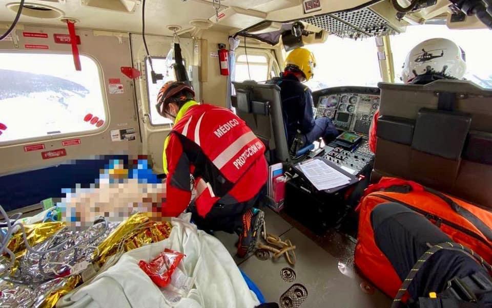 Herido grave un trabajador de Adif al ser golpeado por un tren