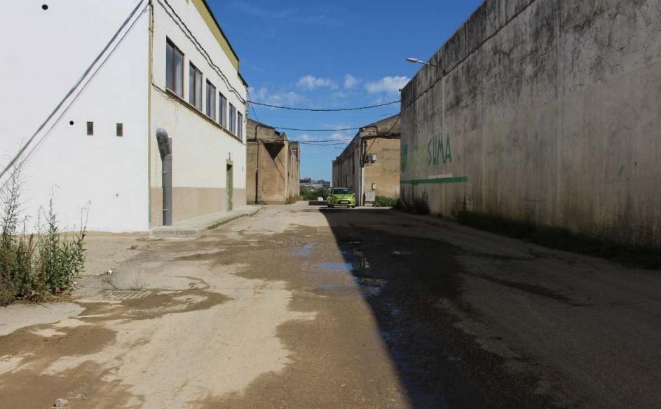 Empiza la mejora de viales en el polígono de la Mies de San Juan de Camargo