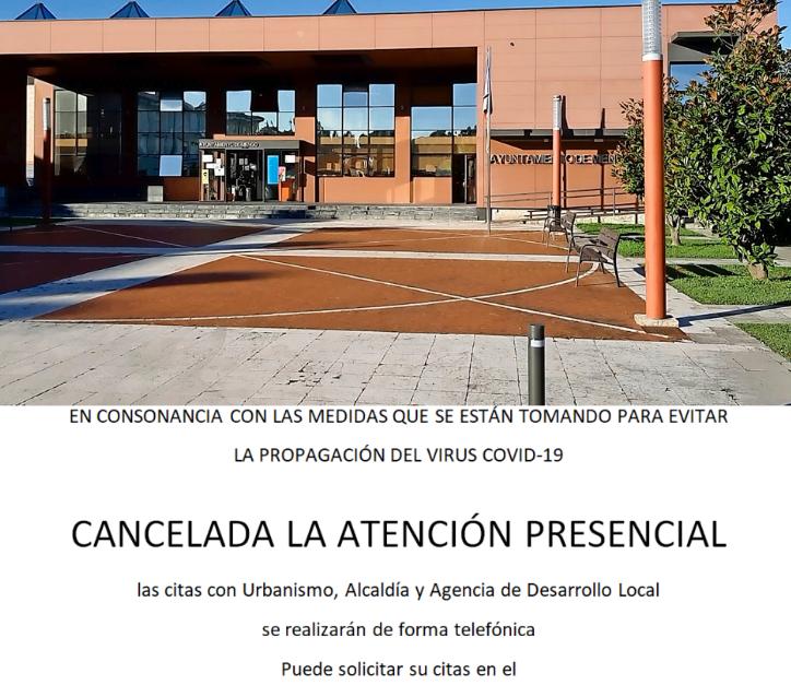 El Ayuntamiento de Miengo cerrado al público por casos covid