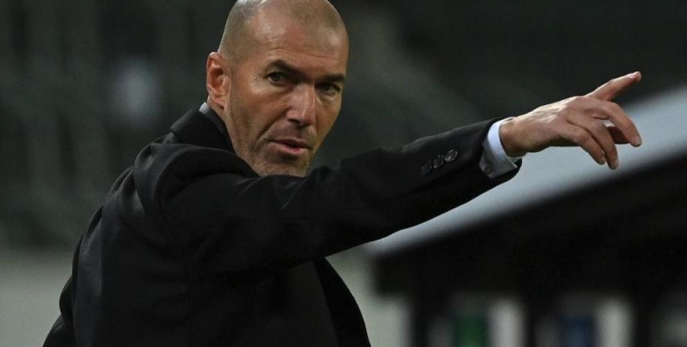 Zidane da positivo en covid-19
