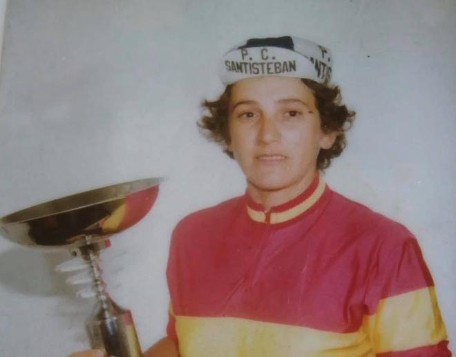 Fallece la cántabra Mercedes Ateca primera campeona de España de ciclismo