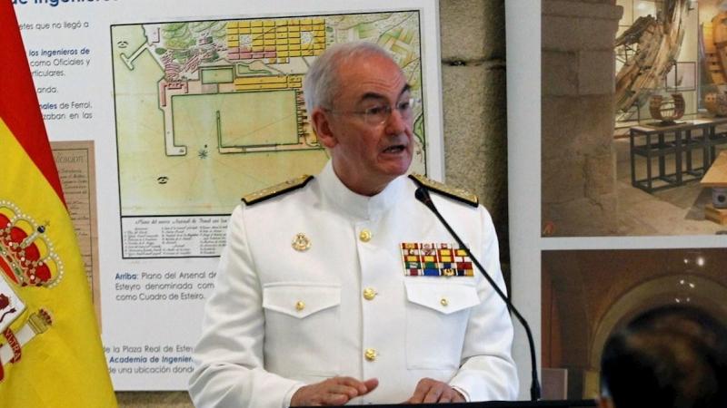 El Gobierno nombra al nuevo JEMAD al actual jefe de la Armada