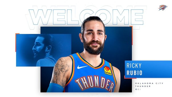 Ricky Rubio ficha por Oklahoma City Thunder. / E. PRESS