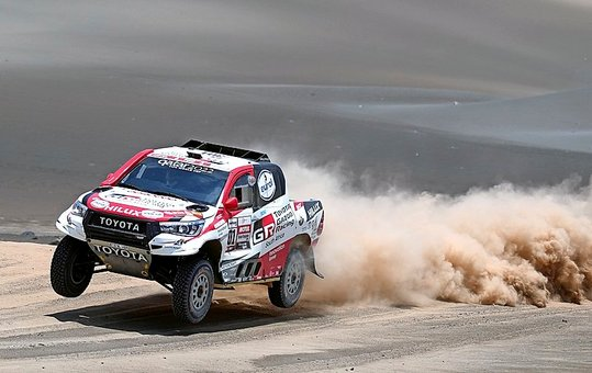 Al-Attiyah, virtual ganador