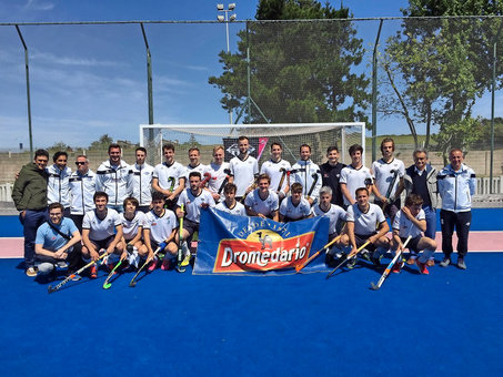 El Sardinero Hockey Club masculino debuta en División de Honor B este domingo en Madrid