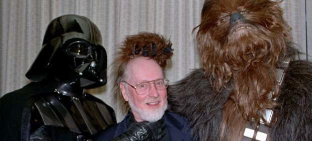 Darth Vader, John Williams y Chewbacca. ALERTA / Archivo