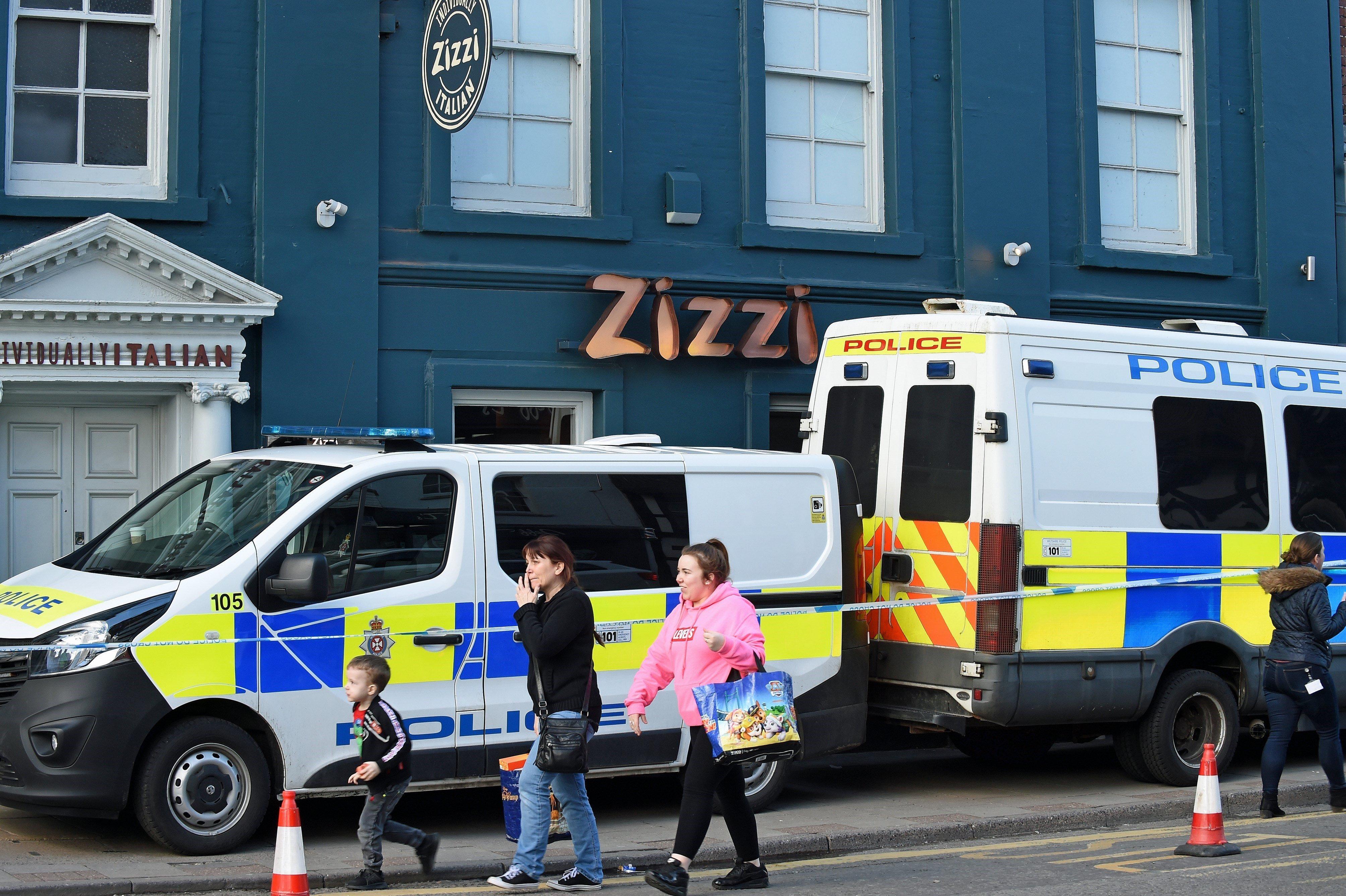 La Polic A Identifica A 200 Testigos En El Caso Del Esp A Ruso  ~ Restaurante Chino Villaverde Bajo