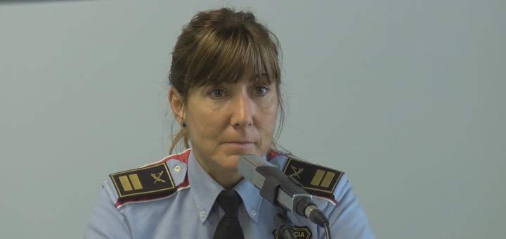 La comissària Cristina Manresa. /ALERTA