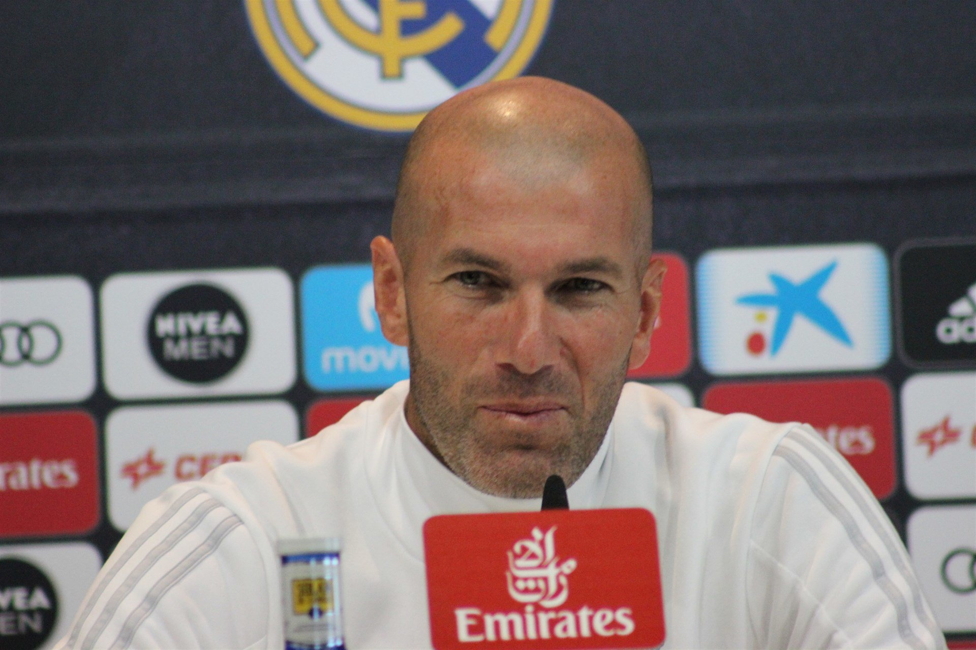 El entrenador del Real Madrid, Zinedine Zidane. /E.PRESS