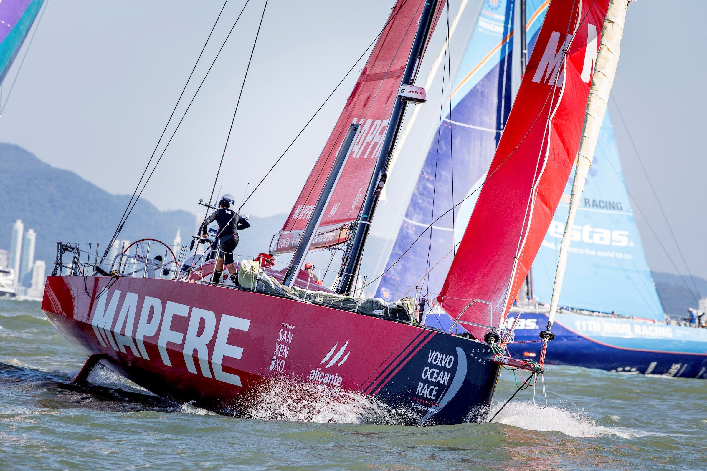 El MAPFRE en la Vovlo Ocean Race. /E.PRESS/Archivo