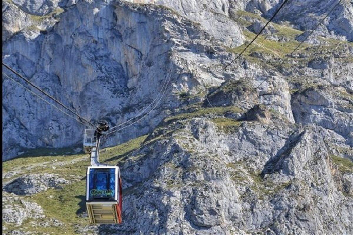 El teleférico de Fuente Dé reanuda su actividad tras labores de ...