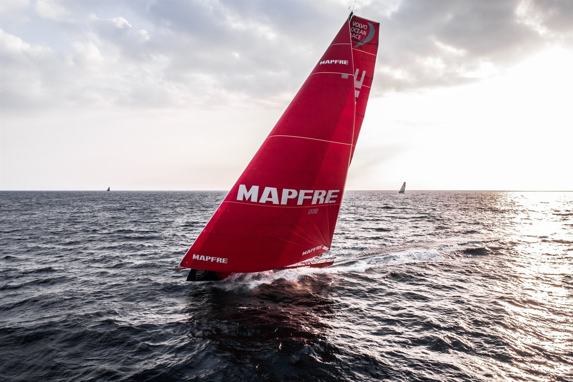 El MAPFRE en la Volvo Ocean Race. /E.PRESS
