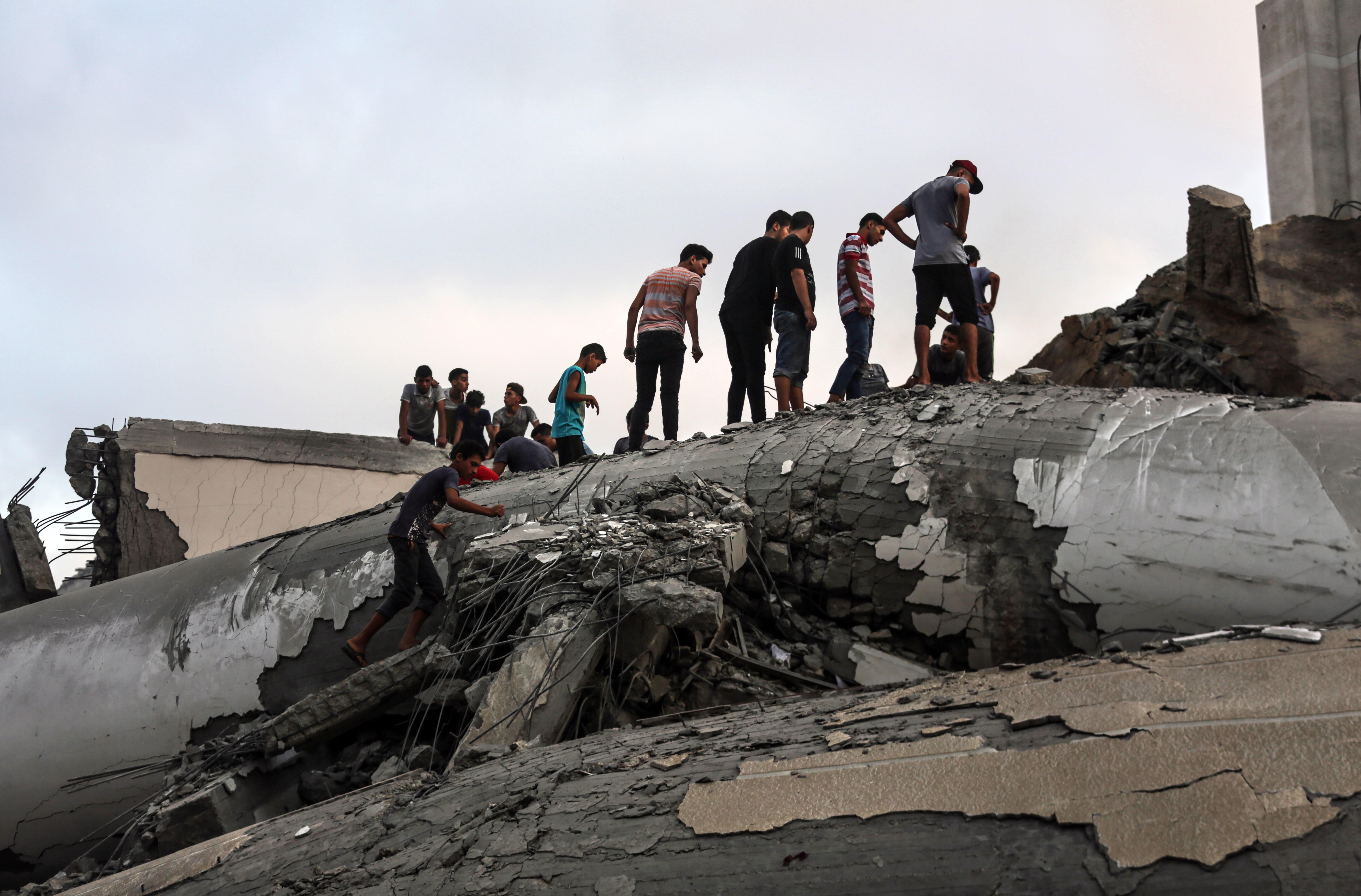 167 palestinos han sido asesinado en protestas por el ejército israelí