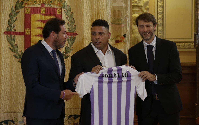 Ronaldo llega a un acuerdo para hacerse con el Real Valladolid
