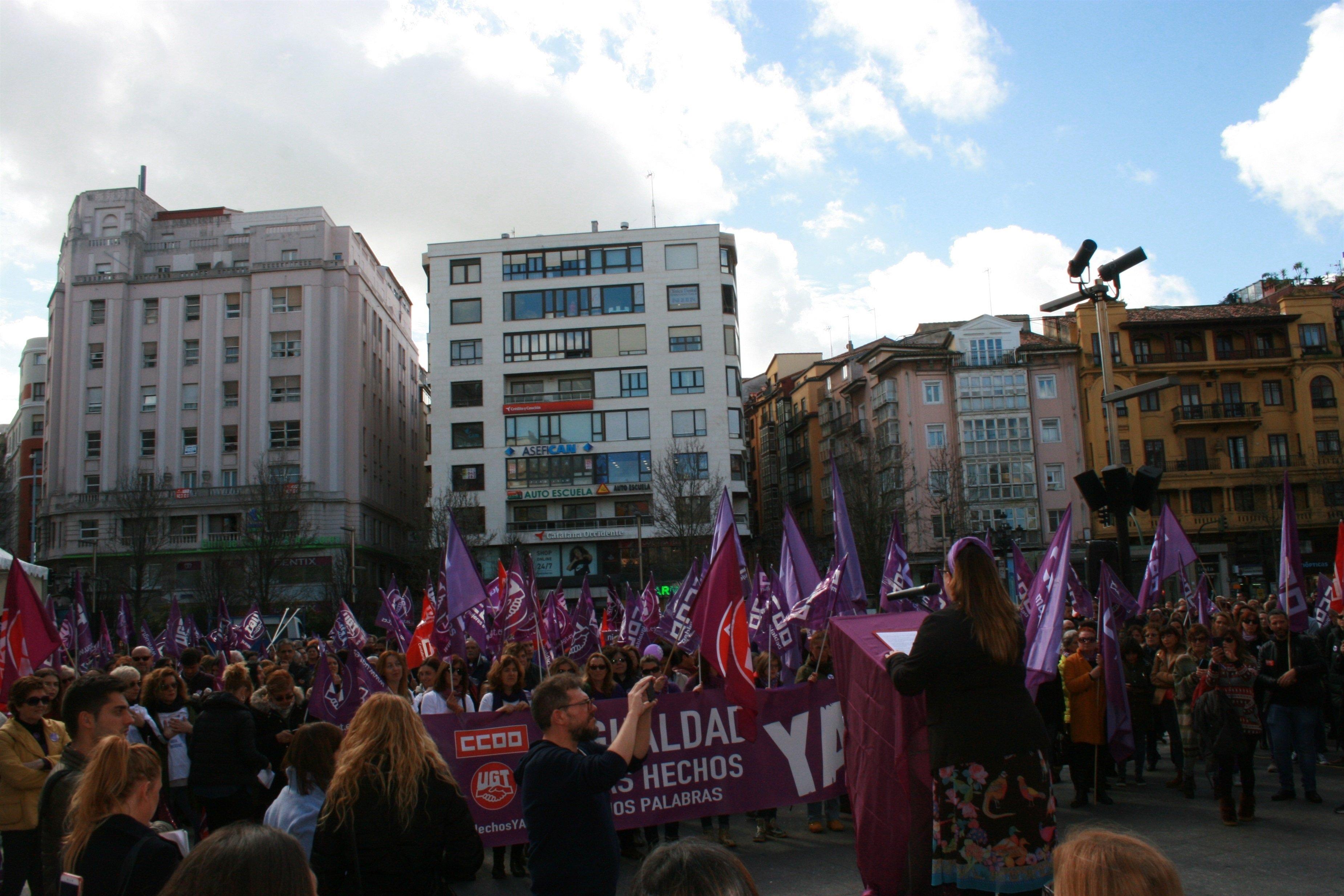 Autoescuela Peñacastillo ugt y ccoo estiman en el 63% el seguimiento de la huelga en