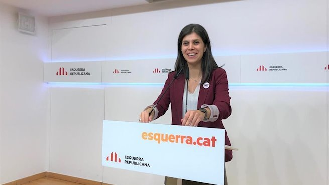 La portavoz y secretaria general adjunta de ERC, Marta Vilalta - EUROPA PRESS