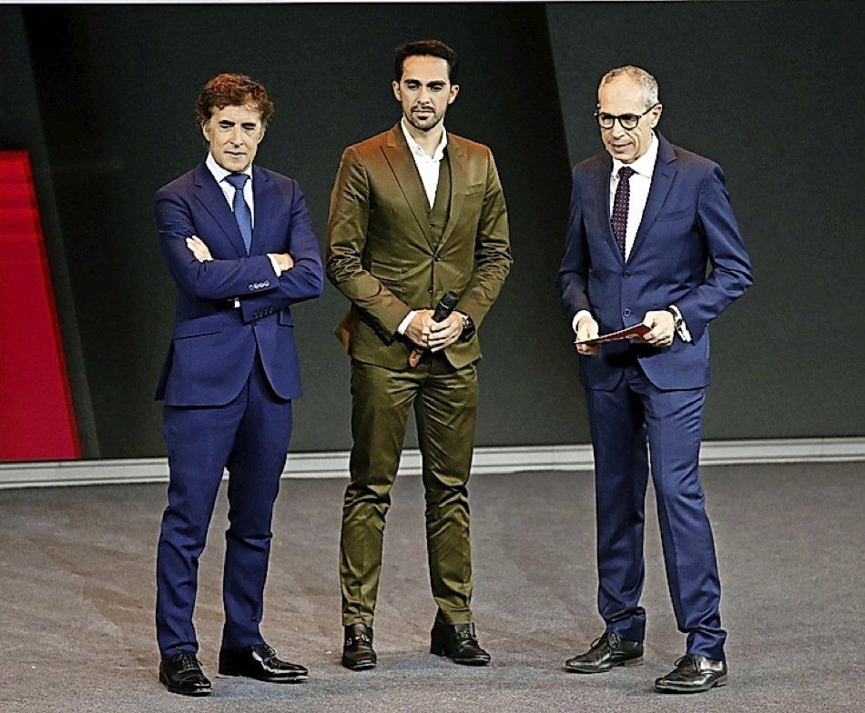 ¿Cuánto mide Alberto Contador? - Estatura y peso - Real height 2019121808231897468
