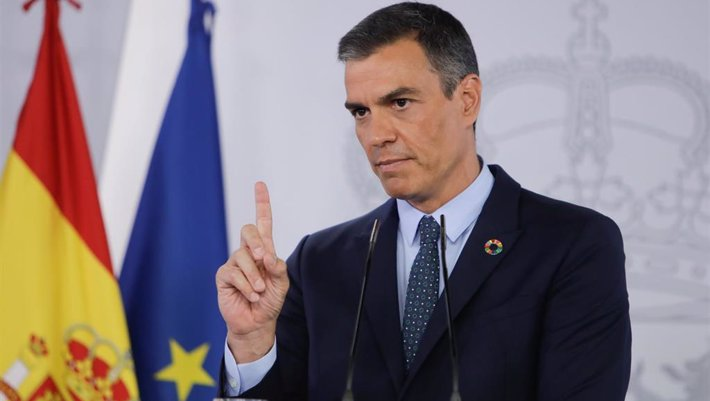 El presidente del Gobierno, Pedro Sánchez. - EUROPA PRESS/R.Rubio.POOL - Europa Press