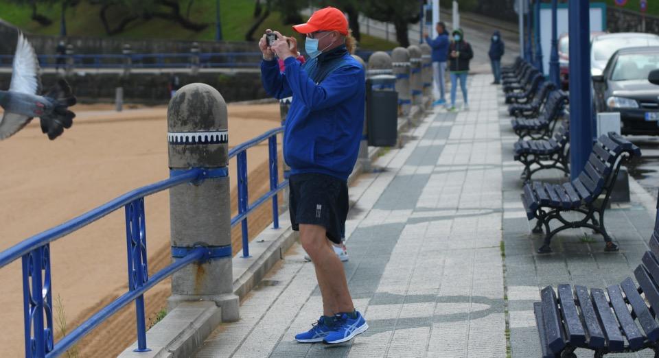 Las olas y viento pone en en riesgo a Cantabria