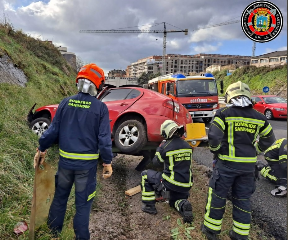 Accidente en la S-20
