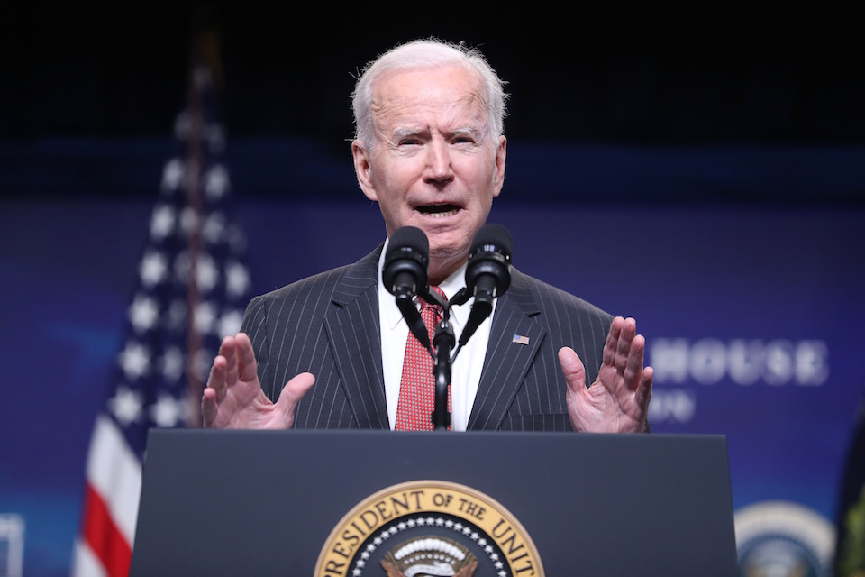 Joe Biden, presidente de Estados Unidos. / MICHAEL REYNOLDS