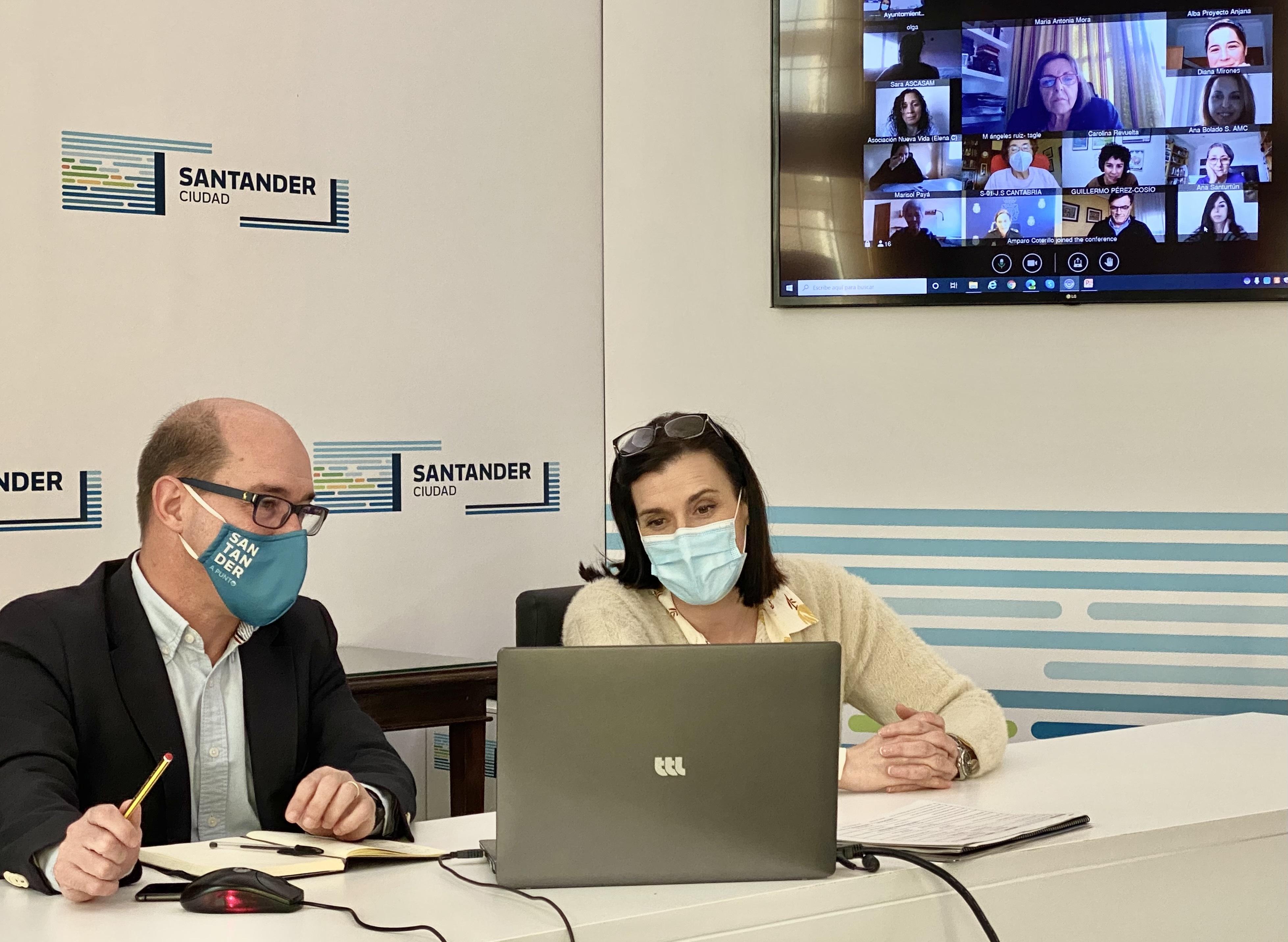 Santander avanza en los preparativos para la conmemoración del 8 de Marzo