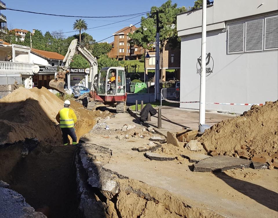 Iniciadas las obras de urbanización integral de la calle El Muelle