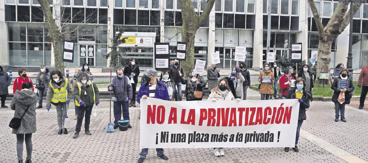 Las labores esenciales de desinfección, ahora pasa a ser «privatizable»