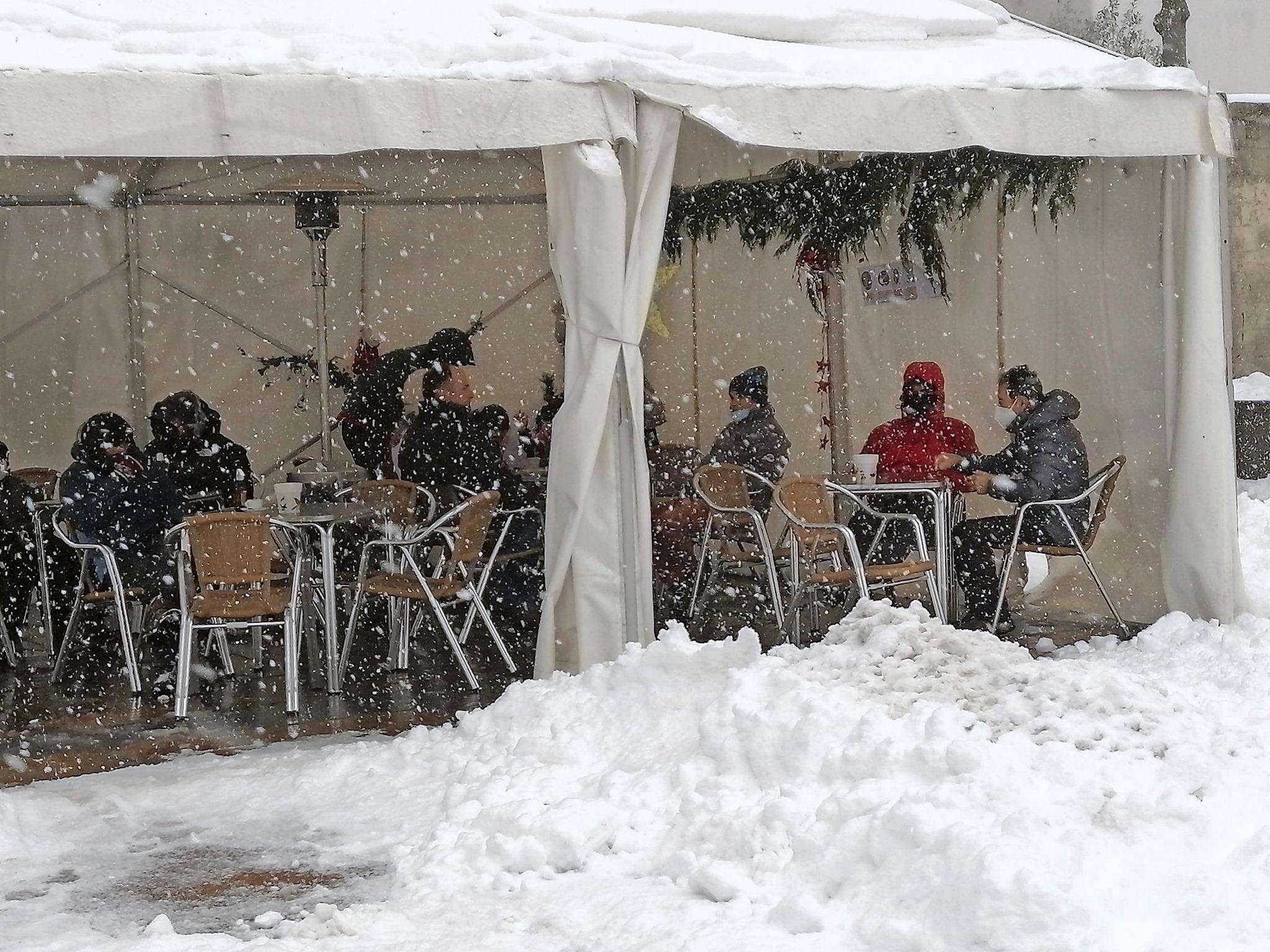 Cantabria estará mañana con riesgo de nevadas
