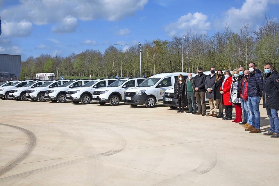 Camargo adquiere 9 vehículos nuevos para varios departamentos