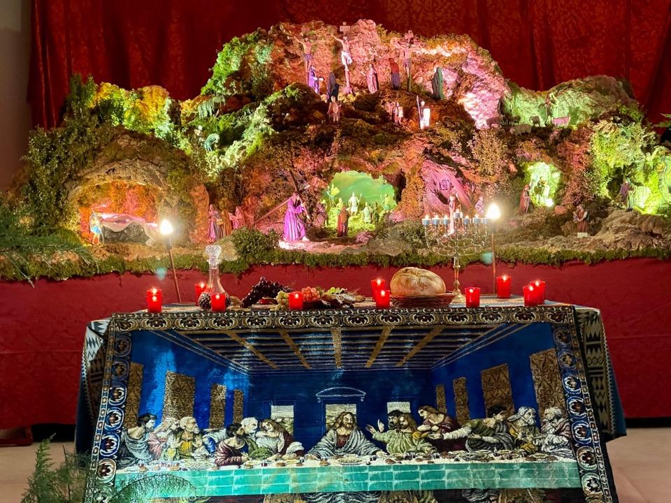 Laredo muestra el diorama de la Pasión del Señor