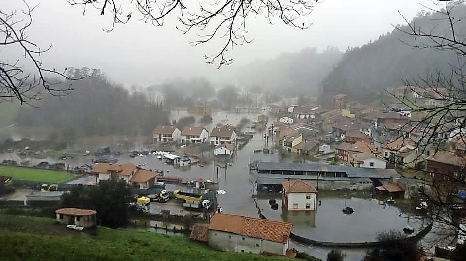 Continúa sin haber un protocolo claro sobre  la prevención en las inundaciones de Molleda