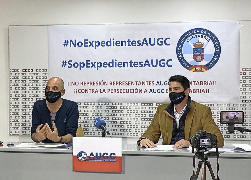 AUGC denuncia la «persecución» a  sus representantes  en Cantabria