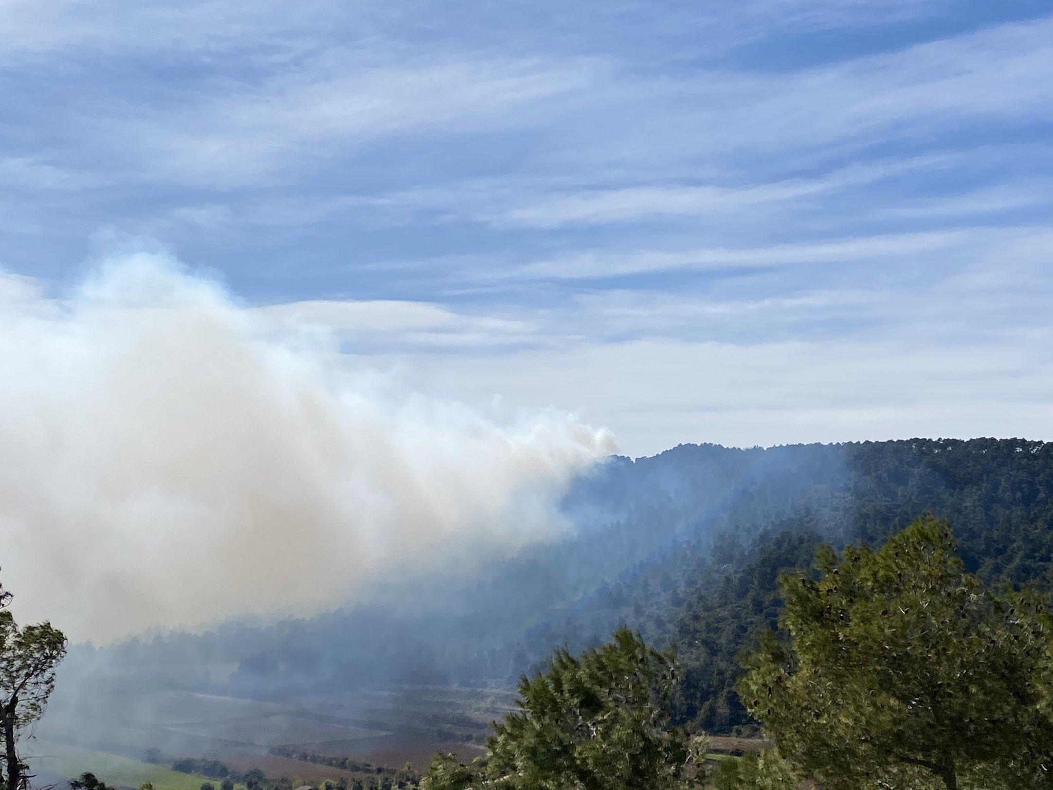Cantabria controla el último incendio forestal activo en Castro Urdiales