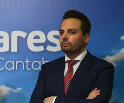 El diputado del PP Álvaro Aguirre da positivo en el cribado del Parlamento