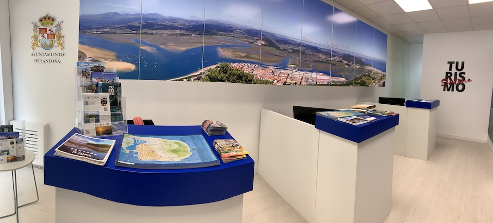 """Santoña renueva la oficina de turismo central con """"identidad marinera"""""""