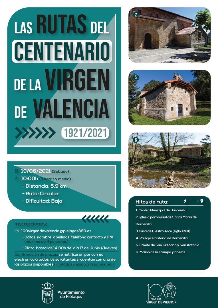 Barcenilla centrará la segunda salida del Programa 'Las rutas del centenario de la Virgen de Valencia'