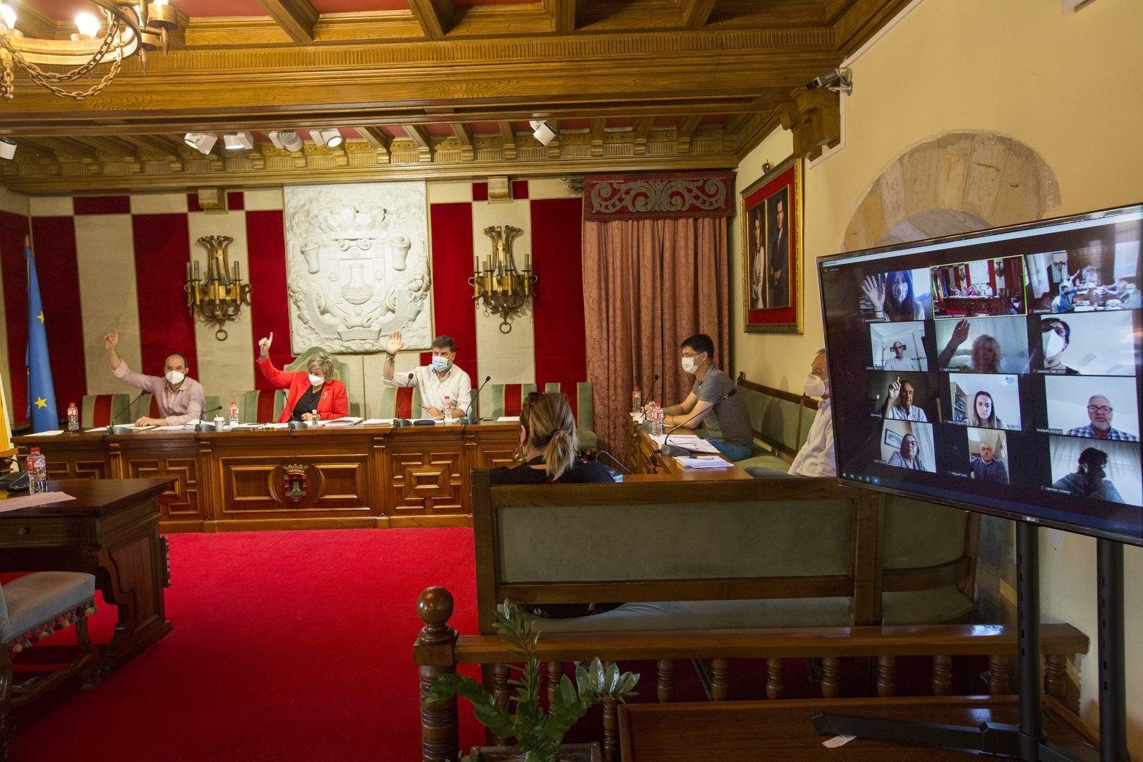 El Pleno de Camargo aprueba el nuevo presupuesto, que crece un 14,l4%, hasta los 37,6 millones