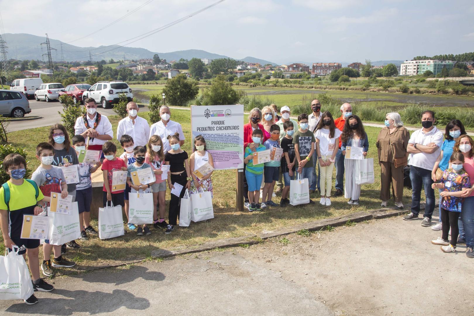 """Maliaño inaugura el 'Parque Pequeños Cachoneros', """"ejemplo"""" de recuperación ambiental"""