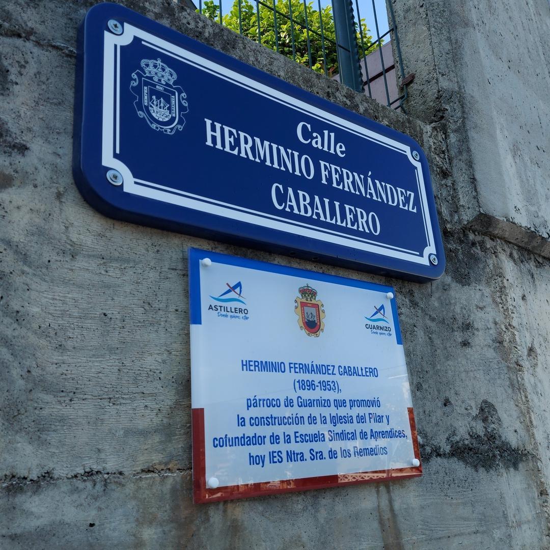 Astillero homenajea a Herminio Fernández Caballero por el que hubiera sido su 125 cumpleaños