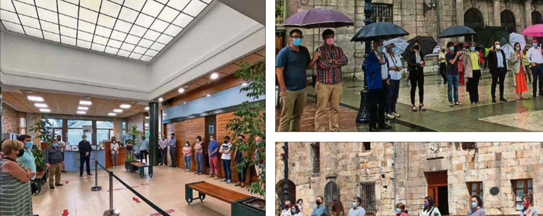 Los municipios cántabros se solidarizan con las víctimas asesinadas en las últimas semanas