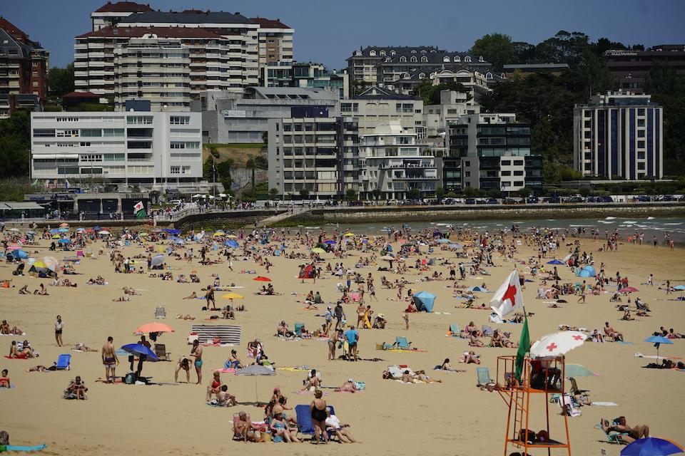 El Gobierno reactiva la web para informar en tiempo real del estado de playas
