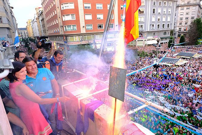 Las Fiestas de Santander no tendrán chupinazo, pero si fuegos y pendiente de Feria de Día